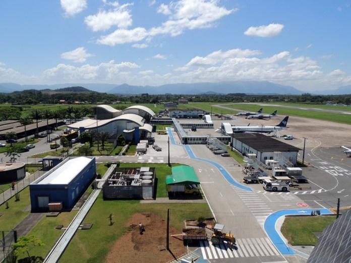 , Pátio de aeronaves do Aeroporto de Joinville ganhará nova sinalização, Portal Aviação Brasil