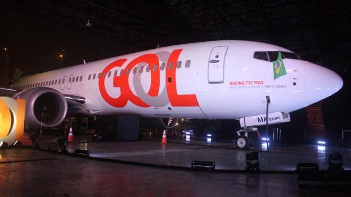 Gol é a primeira aérea do mundo a retomar voos comerciais com o Boeing 737 MAX