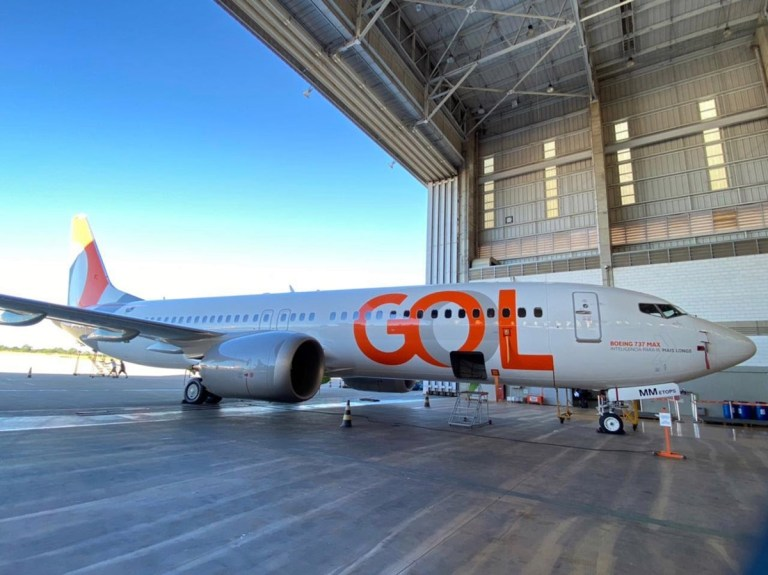 Chegou o 8º Boeing 737-Max 8 da Gol