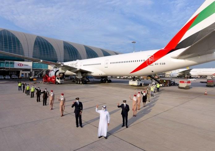 Emirates segue dando exemplos contra a Covid-19