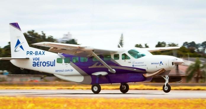 Aerosul inicia quarta na rota Floripa – Curitiba