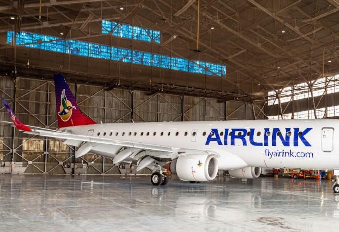 Nueva imagen de los aviones de Airlink