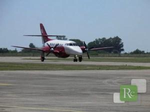 Aeropuerto de Reconquista - Jetstream - Macair-LAER (Foto: Municipalidad de Reconquista)