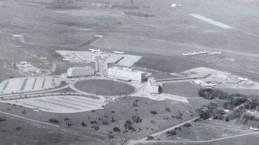 Ezeiza en 1950