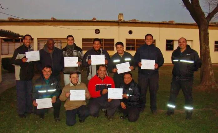 Participantes del curso (Foto: ANAC)