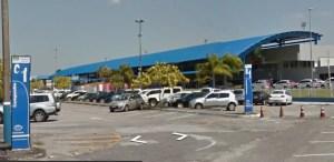 Aeropuerto de Florianópolis (Foto captura Google Street View).