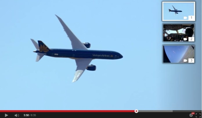 Boeing 787-9 Dreamliner - Multicamara