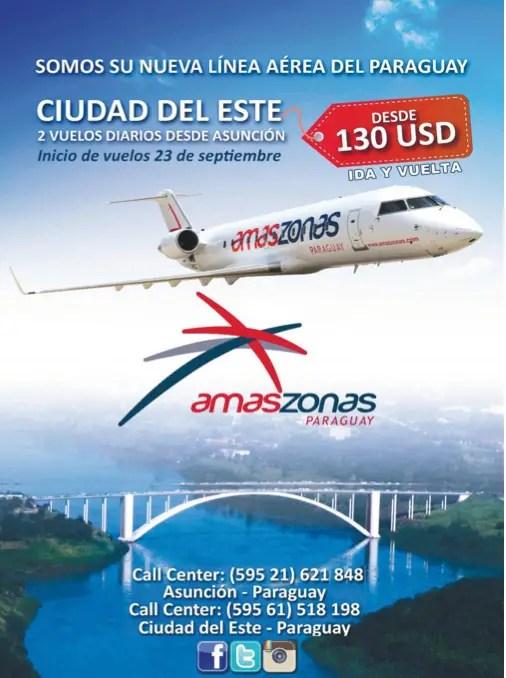 Amaszonas del Paraguay - Ciudad del Este