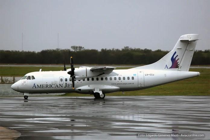 ATR 42 LV-CZJ de American Jet