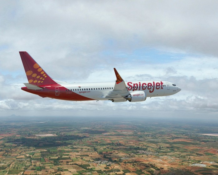 SpiceJet - Boeing 737 MAX 8