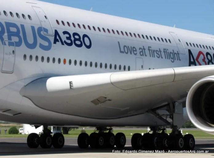 Airbus A380 - Ezeiza