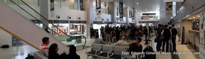 Neuquén - aeropuerto - check in