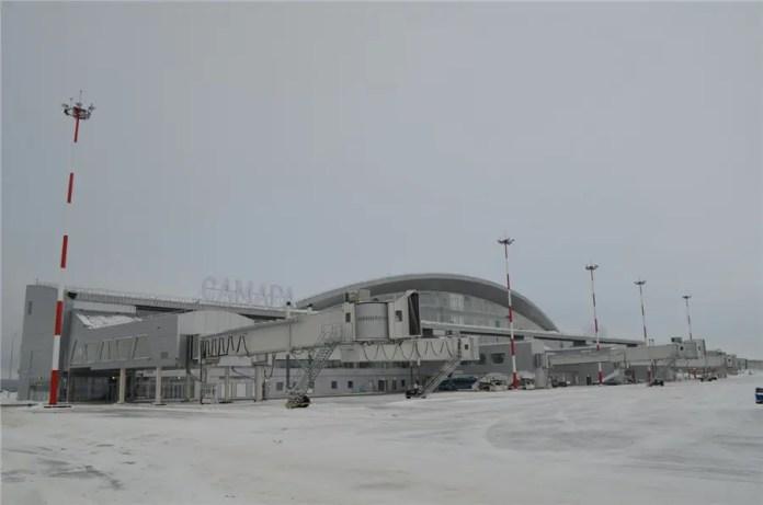 Terminal 1 del aeropuerto de Samara (Foto: Wikimedia Commons)