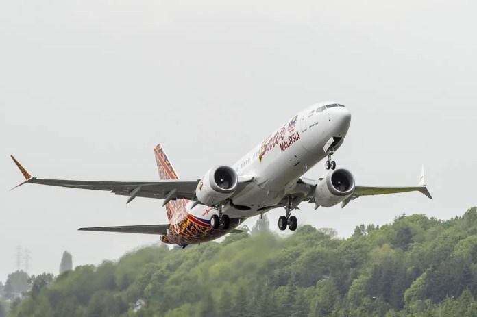 Malindo Air - Boeing 737 MAX entrega 02 C