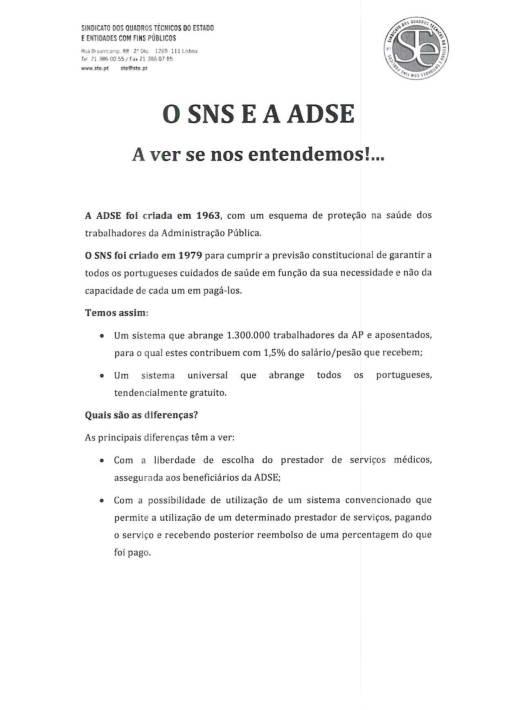 ADSE - I