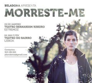 Morreste-me - Teatro Bernardim Ribeiro Alentejo