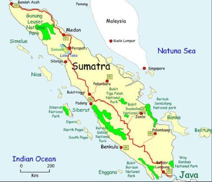 mapa -Sumatra-map