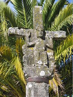 O cruzeiro mais antigo da Galiza, em Melide