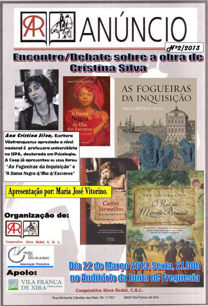Encontro Ana Cristina Silva