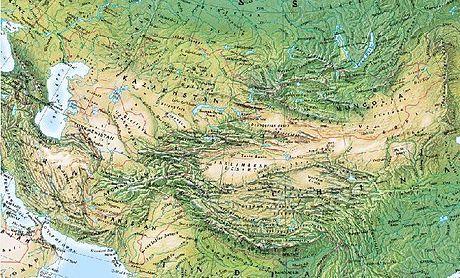 Lago Balkhash - 460px-Central_Asia_Physical