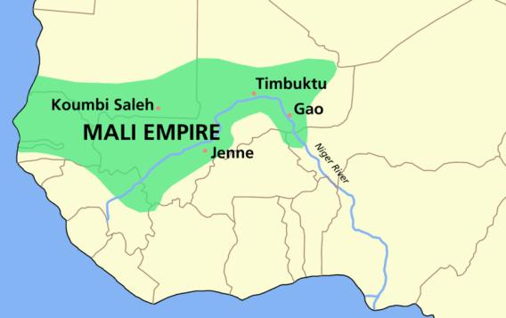 Império do Mali Obrigado a Wikimedia Commons