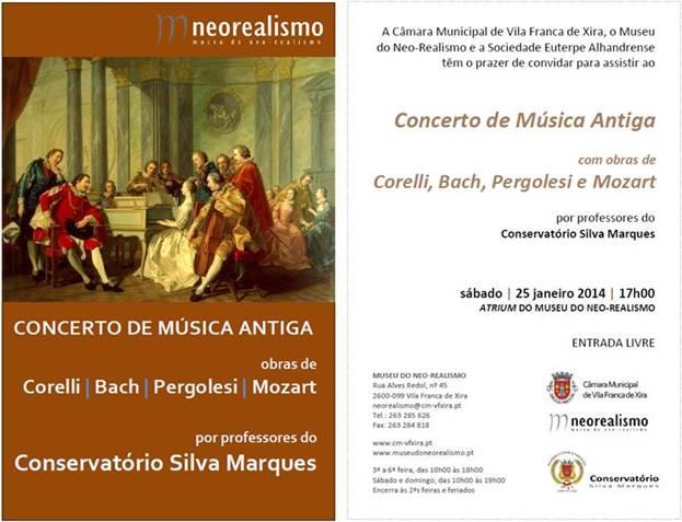 concerto de música antiga