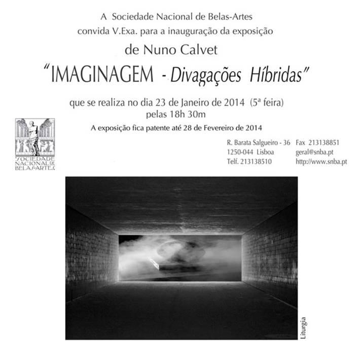 Imaginagem - divagações híbridas, de Nuno Calvet