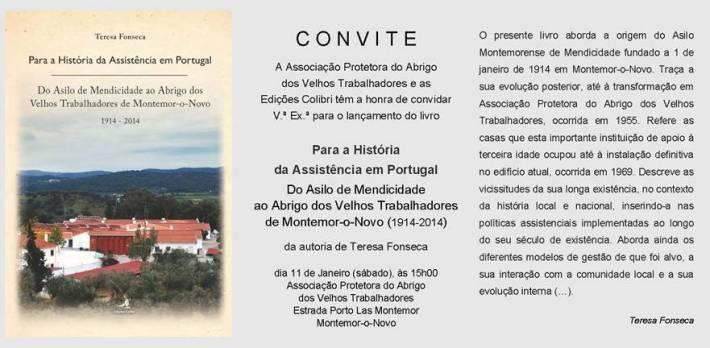 Para a História da Assistência em portugal