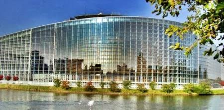 Parlamento Europeu em Bruxelas, na Bélgica