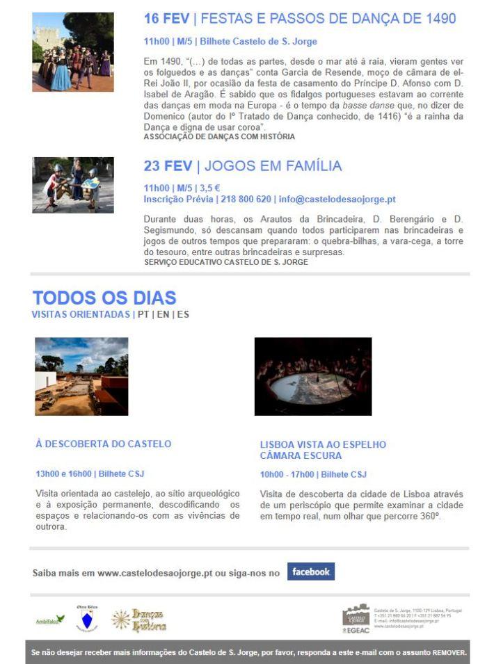 Programa - Fevereiro - II