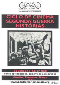Ciclo de cinema - segunda guerra - histórias