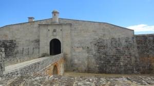 Entrada a la fortaleza de Almeida