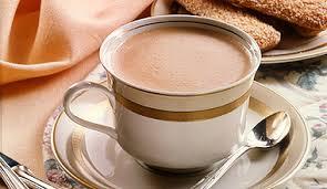 Chávena de meia de leite