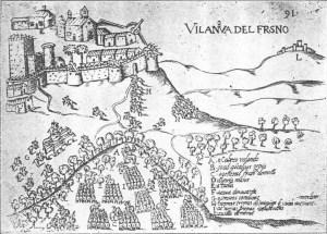 Villanueva del Fresno en las Guerras de Restauração (en 1662)