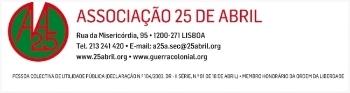 Logo associação 25 de abril