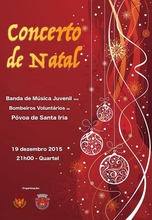 Bombeiros - concerto de Natal