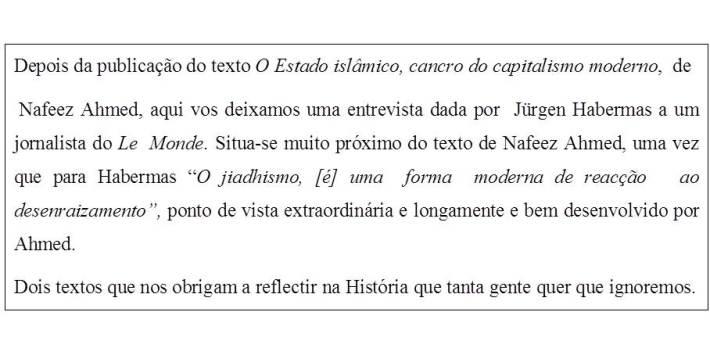Habermas - I