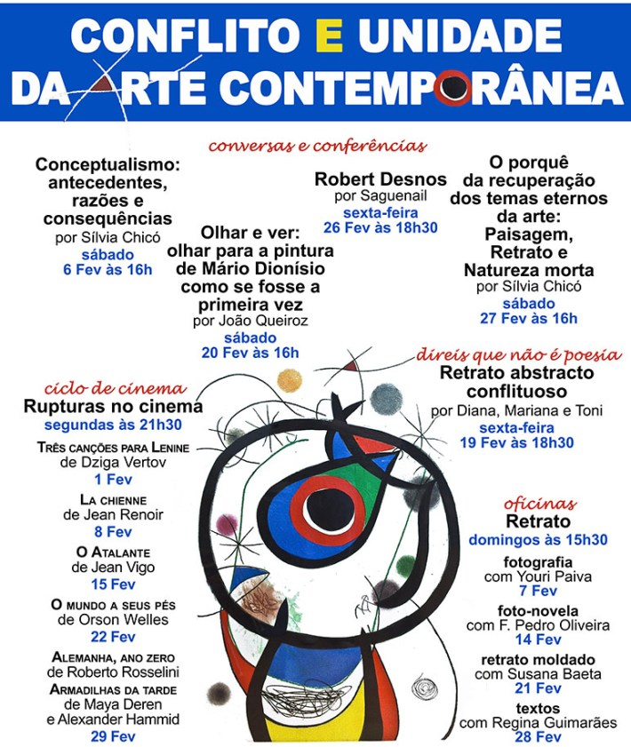 conflito e conceptualidade na arte contemporânea