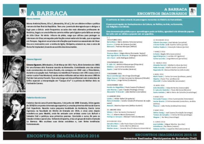 ENCONTRO IMAGINÁRIO - 20 de Junho de 2016 - II