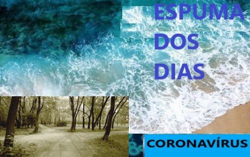 Espuma dos dias 2 Coronavirus Mudança Paradigma
