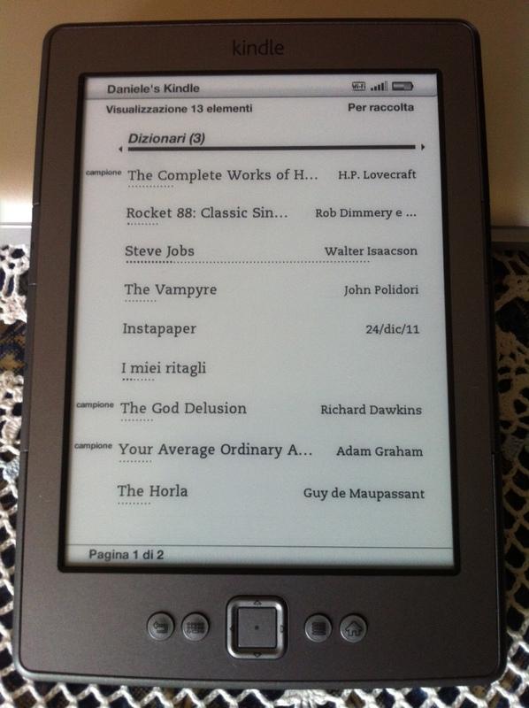 Amazon Kindle 4 review   Avian Bone Syndrome
