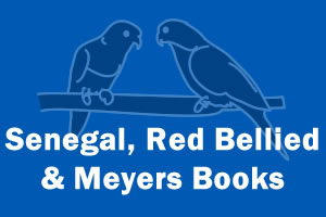 Senegal, Red Bellied & Meyers Parrot Books