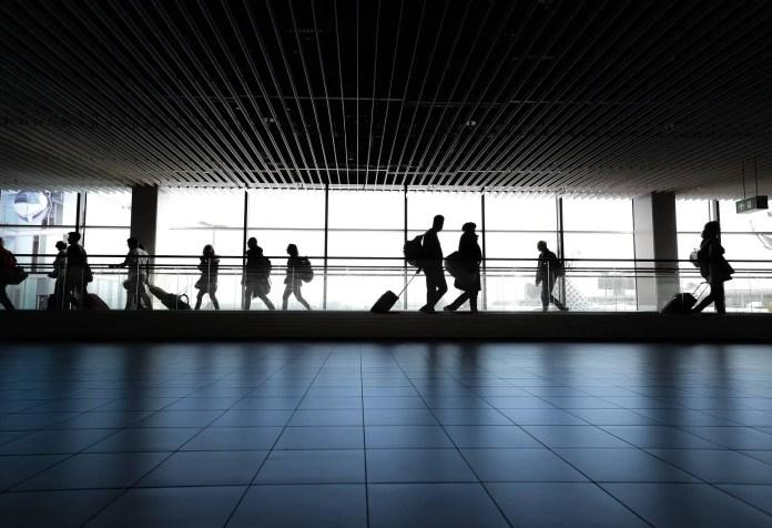 airport affected corona virus