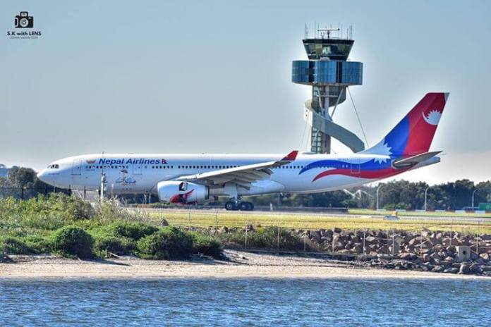 nepal airlines sydney