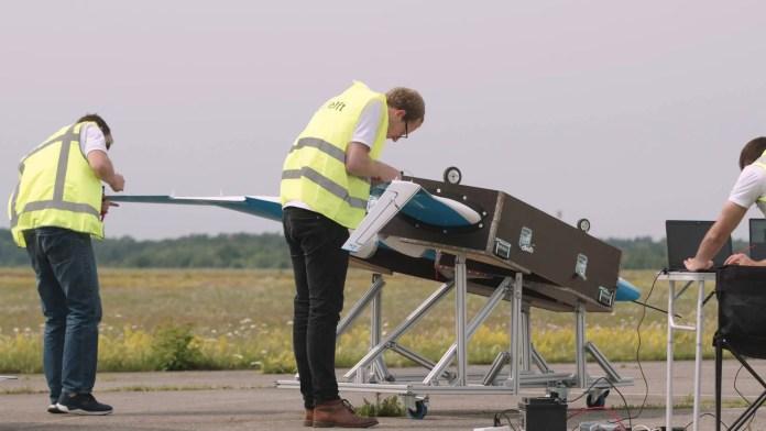 Joep van Oppen FlyingV Scalemodel Flighttest 3