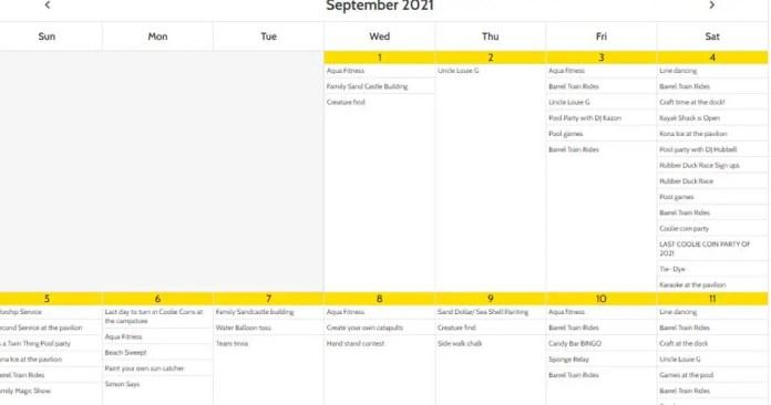 myrtle beach activity calendar aviatechchannel