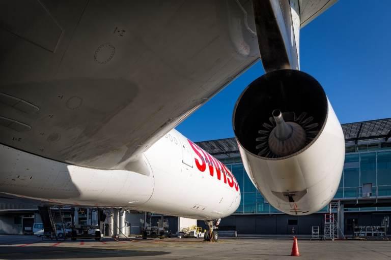 Swiss testet IATA Travel Pass