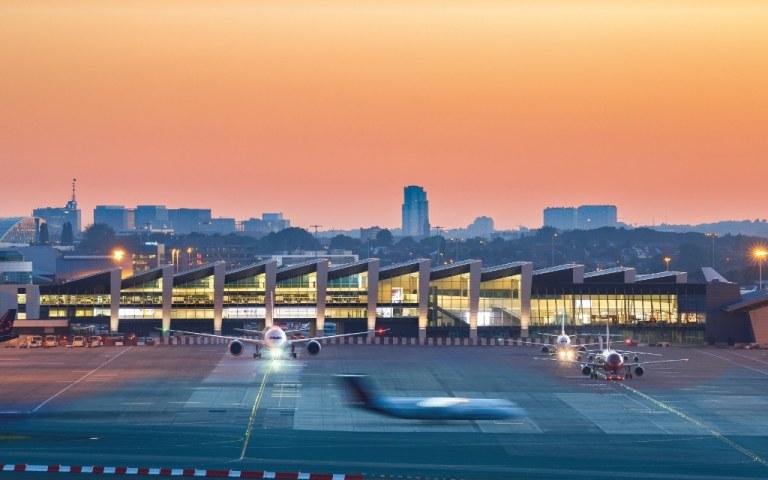 Brüssel: Passagierzahlen stürzen in die Tiefe