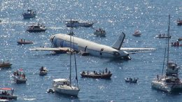 Repairing tourism in Turkey includes sinking a passenger airplane 15