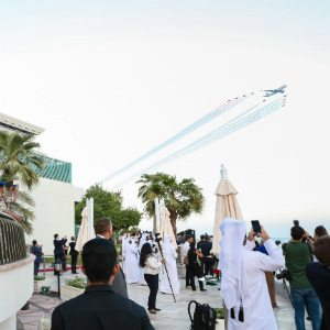 Qatar Airways celebrates its 20th anniversary with thrilling air display over Doha 1